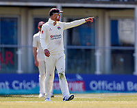 Lancashire captain Dane Vilas directs his field during Kent CCC vs Lancashire CCC, LV Insurance County Championship Group 3 Cricket at The Spitfire Ground on 24th April 2021