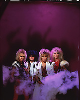 le groupe heavy metal Dagger<br />  exclusif<br /> , 1984 ou 1985<br /> <br /> PHOTO : Agence Quebec Presse