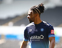17th April 2021; Liberty Stadium, Swansea, Glamorgan, Wales; English Football League Championship Football, Swansea City versus Wycombe Wanderers; Garath McCleary of Wycombe Wanderers during warm up