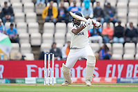 Ravichandran Ashwin, India drives between point and cover for four runs during India vs New Zealand, ICC World Test Championship Final Cricket at The Hampshire Bowl on 20th June 2021