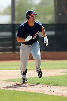 Beau Mills  -  Cleveland Indians - 2009 spring training.Photo by:  Bill Mitchell/Four Seam Images