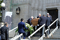 attend Jeanine Sutto funerals, April 10, 2017.<br /> <br /> PHOTO  :  Agence Quebec Presse