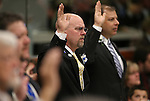 Nevada Assembly Republicans Ira Hansen, center, and Paul Anderson, right, take the oath of office during the opening day of the 77th Legislative Session in Carson City, Nev. on Monday, Feb. 4, 2013. (AP Photo/Cathleen Allison)