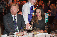 09-02-13, Tennis, Rotterdam, qualification ABNAMROWTT, Draw, Dinner with Boris Becker and his whife