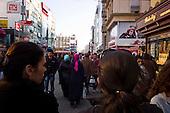 Istanbul, Turkey<br /> March 12, 2011<br /> <br /> Walling shopping mall on a crowded Saturday.
