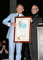 LOS ANGELES, CA. October 06, 2021: Daniel Craig & Mitch O'Farrell on Hollywood Boulevard where he was honored with a star on the Hollywood Walk of Fame. <br /> Picture: Paul Smith/Featureflash