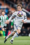 Luka Modric of Real Madrid in action during their La Liga match between Real Madrid and Real Betis at the Santiago Bernabeu Stadium on 12 March 2017 in Madrid, Spain. Photo by Diego Gonzalez Souto / Power Sport Images