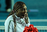HONG KONG - JANUARY 07:  Venus Williams of United States yawns during the opening ceremony of the World Team Challenge 2009 tournament held at Victoria Park January 7, 2009 in Hong Kong, China.  Photo by Victor Fraile / The Power of Sport Images