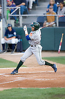 August 6, 2010: Boise Hawks' Alvaro Ramirez (#6) during a Northwest League game against the Everett AquaSox at Everett Memorial Stadium in Everett, Washington.