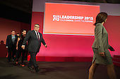 Deputy Leader candidates at Labour Party leadership poll result Westminster London