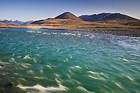 Kongakut river, caribou pass, Brooks Range mountains, Arctic National Wildlife Refuge, Alaska