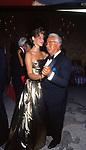 ANTONIO D'AMICO CON LIVIA IMPERIALI<br /> DICIOTTESIMO COMPLEANNO DI ELISABETTA DE BALKANY<br /> PALAZZO VOLPI     VENEZIA     AGOSTO  1990