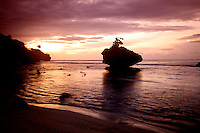 Sunset at Flying Fish Cove, Christmas Island, Indian Ocean