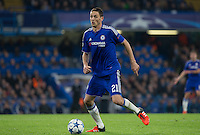 Nemanja Matic of Chelsea in action during the UEFA Champions League Group G match between Chelsea and Dynamo Kyiv at Stamford Bridge, London, England on 4 November 2015. Photo by Andy Rowland.