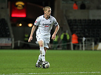 Pictured: Garry Monk of Swansea<br /> Re: Coca Cola Championship, Swansea City FC v Barnsley at the Liberty Stadium. Swansea, south Wales, Tuesday 09 December 2008.<br /> Picture by D Legakis Photography / Athena Picture Agency, Swansea 07815441513