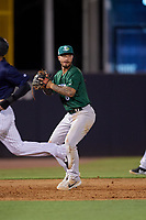 Daytona Tortugas third baseman Jonathan India (6) throws to first base during a Florida State League game against the Tampa Tarpons on May 17, 2019 at George M. Steinbrenner Field in Tampa, Florida.  Daytona defeated Tampa 8-6.  (Mike Janes/Four Seam Images)