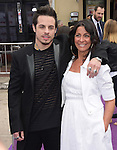 Beau Casper Smart and his mom attend The Twentieth Century Fox Special Screening of HOME held at The Regency Village Theater in Westwood, California on March 22,2015                                                                               © 2015 Hollywood Press Agency