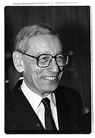Boutros Boutros-Ghali, first Secretary-General of the Organisation internationale de la Francophonie Between  November 1997 and December 2002 (exact date unknown)<br /> <br /> PHOTO : Agence Quebec Presse