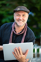 Colum McCann è uno scrittore irlandese naturalizzato statunitense, vincitore del National Book Award nel 2009 con il romanzo Questo bacio vada al mondo intero. Autore dei romanzi best seller This Side of Brightness, Dancer e Zoli, insegna scrittura creativa presso l'Hunter College della City University of New York. Mantova, 12 settembre 2021. Photo by Leonardo Cendamo/Getty Images