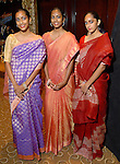 Praneeta Shiwprasad, Arianna Bechan and Jasmin Bechan at the UNICEF Mystique of India gala at the InterContinental Hotel Saturday Sept. 27,2008.(Dave Rossman/For the Chronicle)