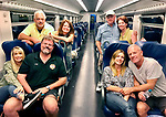 Four couples, three Air B and B's and Italy for 15 days.  This was indeed a trip of a lifetime.  Back Row (L to R) Kim Jensen, Carol Krivulka, Nick Koon, Colleen Koon.  Front Row <br /> (L to R) Ronna Sorenson, Ken Sorenson, Rachel Cantella -  McNamara and Aaron Pederson.