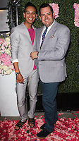WEST HOLLYWOOD, CA, USA - MAY 13: Salvador Camarena, Ross Mathews at the Pump Lounge Grand Opening Hosted By Lisa Vanderpump And Ken Todd held at Pump Lounge on May 13, 2014 in West Hollywood, California, United States. (Photo by Celebrity Monitor)