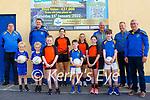 St Senan's GAA Club Draw: Pictured to announce the upcoming draw by St. Senan's GAA club draw were Jim Galvin, Paul Walsh, Emma Larkin, Gerry Foran, Alan Doran & club Chairman  Aidan Behan and young members of St. Senans & St. Senans/Finuge ladies team.