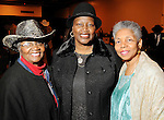 From left: Bertha Cline, Mamie Sneed and LaJoyce Lawton at the 17th Annual Black Heritage Western Gala at the Reliant Center Saturday Jan. 30,2010.(Dave Rossman Photo)