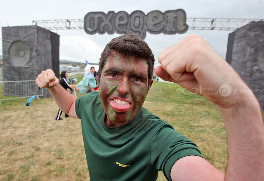 08/07/'10 Conor Dwyer from Kilkenny pictured arriving at Punchestown, Co. Kildare this evening for the start of the Oxegen Festival 2010...Picture Colin Keegan, Collins, Dublin