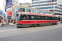 Toronto (ON) CANADA - July 2012 -  tramway ,EATON CENTRE
