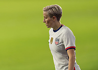 ORLANDO, FL - JANUARY 22: Megan Rapinoe #15 during a game between Colombia and USWNT at Exploria stadium on January 22, 2021 in Orlando, Florida.