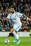 Marcelo Vieira Da Silva of Real Madrid in action during the La Liga 2017-18 match between FC Barcelona and Real Madrid at Camp Nou on May 06 2018 in Barcelona, Spain. Photo by Vicens Gimenez / Power Sport Images