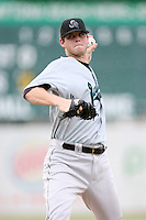 August 16, 2008: Sean West (44) of the Jupiter Hammerheads at Jackie Robinson Ballpark in Daytona Beach, FL. Photo by: Chris Proctor/Four Seam Images
