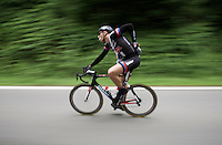 Marcel Kittel (DEU/Giant-Alpecin) playing with his musette<br /> <br /> stage 4: Hotel Verviers - La Gileppe (187km)<br /> 29th Ster ZLM Tour 2015