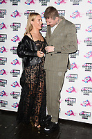 Faye Williams and Professor Green<br /> arriving for the NME Awards 2018 at the Brixton Academy, London<br /> <br /> <br /> ©Ash Knotek  D3376  14/02/2018