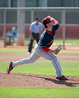 Kyle Nelson - Cleveland Indians 2019 spring training (Bill Mitchell)