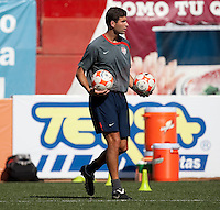 Assistant Coach Paul Grafer at the training before the 2009 CONCACAF Under-17 Championship From April 21-May 2 in Tijuana, Mexico