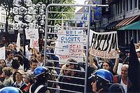 Anti Patriot Act Protest 9.9.03 at Fanieul Hall Boston, MA