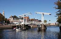 Nederland  Haarlem  2019.  Ophaalbrug over het Spaarne.   Berlinda van Dam / Hollandse Hoogte