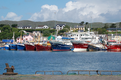 Castletownbere fishing port in West Cork
