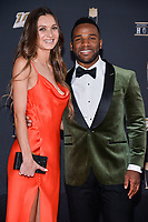 MIAMI, FL - FEBRUARY 1: Chloe Call and Giovani Bernard attend the 2020 NFL Honors at the Ziff Ballet Opera House during Super Bowl LIV week on February 1, 2020 in Miami, Florida. (Photo by Anthony Behar/Fox Sports/PictureGroup)