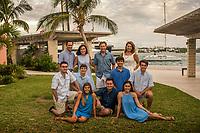 Bertino-McDonaugh family at Hamilton Princess
