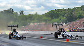 NHRA Mello Yello Drag Racing Series<br /> NHRA New England Nationals<br /> New England Dragway, Epping, NH USA<br /> Sunday 4 June 2017 Shawn Langdon, Global Electronic Technology, Top Fuel Dragster<br /> <br /> World Copyright: Will Lester Photography