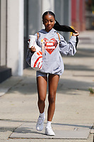 Skai Jackson Arriving To Dancing With The Stars In Hollywood