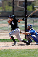 Tyler Flowers -  Chicago White Sox - 2009 spring training.Photo by:  Bill Mitchell/Four Seam Images