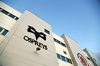 Exterior view of the Liberty Stadium prior to the Guinness PRO14 Round 6 match between Ospreys and Scarlets at The Liberty Stadium , Swansea, Wales, UK. Saturday 07 October 2017