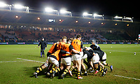 Photo: Richard Lane/Richard Lane Photography. Harlequins v Wasps.  European Rugby Champions Cup. 13/01/2018. Wasps warm up.