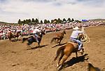 Big Loop Roping, Jordan Valley Big Loop Rodeo, Ore...