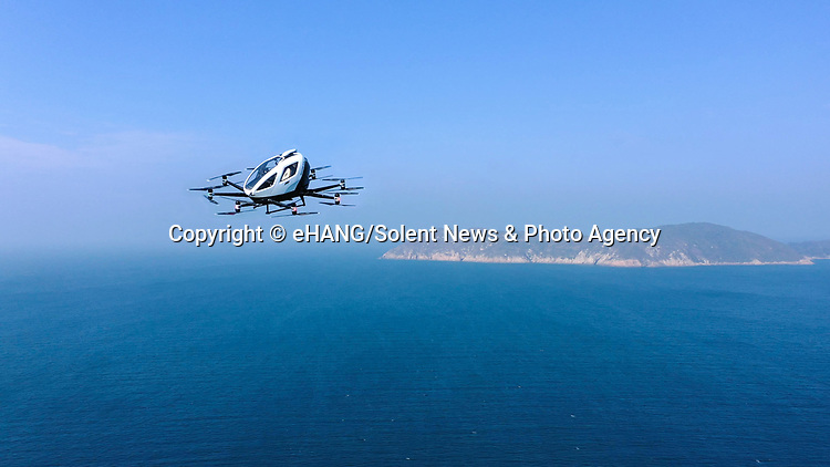 WITH VIDEO<br /> <br /> Air taxis are set to transport tourists to incredible 30 metre high landing towers in the middle of the wilderness, according to plans released by a leading design company. The structures will be powered by green energy and holiday makers will be flown to them in 'autonomous aerial vehicles'.<br /> <br /> Tourists can then dine out in the spectacular restaurant at the top of the building, due to be built at a location in Italy, before taking a scenic flight back to their hotel.  EHang Holdings, the company behind the unmanned aircrafts, has partnered up with Italian architects Giancarlo Zema Design Group to create the stunning eco-friendly 'vertiports'.  SEE OUR COPY FOR DETAILS.<br /> <br /> Please byline: eHANG/Solent News<br /> <br /> © eHANG/Solent News & Photo Agency<br /> UK +44 (0) 2380 458800