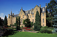 Scotland. Carberry Tower, 16th Century towerhouse at Inveresk near Musselburgh, Edinburgh. Now a Christian conference centre..